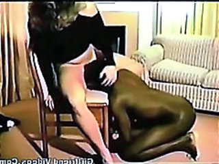 Licking Interracial MILF
