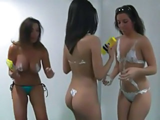 Orlando jones talks with playboy babes on radio tubes