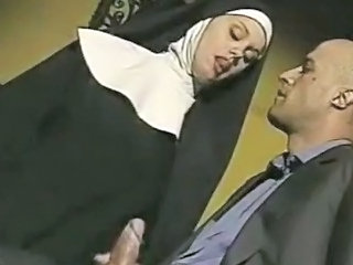 Nun Handjob Uniform