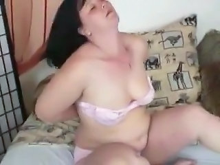 Chubby Lingerie Mature