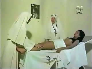 Nun Threesome Vintage Gyno