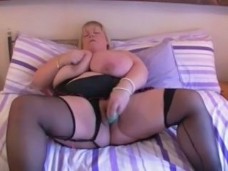 Stockings Toy BBW Bbw Blonde Bbw Masturb Bbw Mature