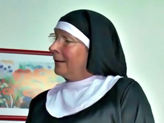 Nun Uniform Glasses