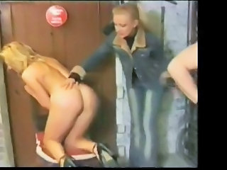 FRENCH CASTING 11b thee blonde babe and two males