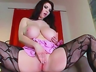 Pantyhose Big Tits Masturbating