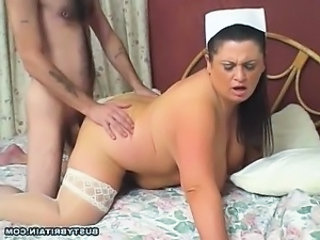Nurse Mom Doggystyle