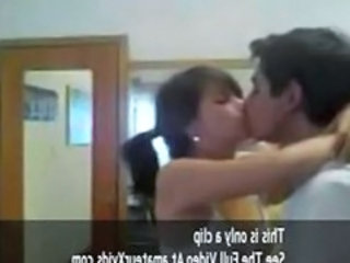 Student Indian Kissing Coed