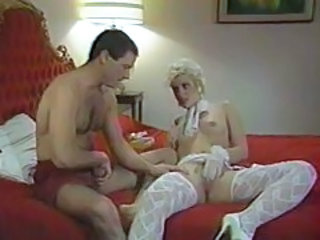 Video from: tubewolf | 80s babe in stockings laid in retro porn tubes