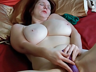 cougar and electric dildo. pure pervert