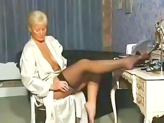 older  inside nylons