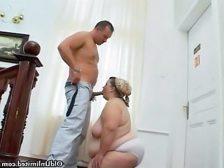 fat granny mature wife obtains her rough part4