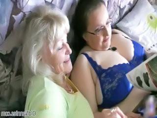 busty elderly loves having homosexual woman fuck