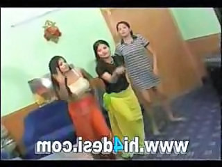 Threesome Dancing Indian