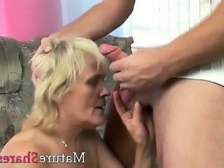 Old And Young Blonde Blowjob Granny Blonde Granny Young Old And Young