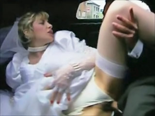 Bride Car French European French Stockings