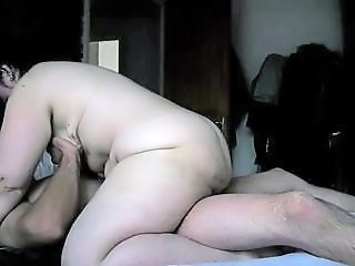 bbw alison, giving head to and riding my cock