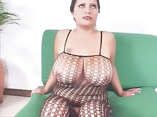 Lingerie Fishnet Big Tits