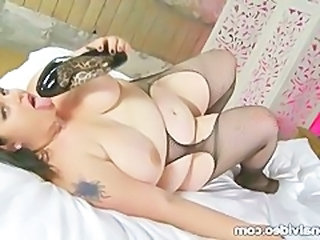 Pantyhose Tattoo BBW