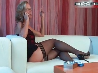 Smoking German Legs European German German Mature