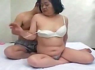 60yr old Japanese Granny Loves Cock and Cum (Uncensored)