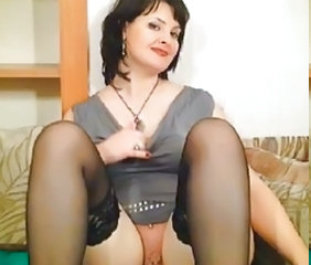Stockings Webcam Chubby