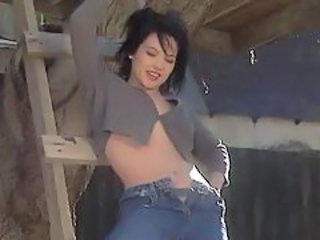 Cute Babe Jeans Babe Big Tits Babe Outdoor Big Tits