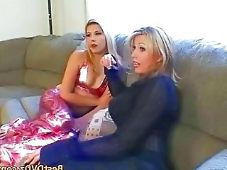 Ffm Threesome Blondes Fucking Ha...