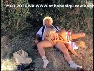 MILF Outdoor Vintage Blowjob Milf Daddy European
