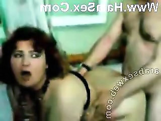 Arab MILF Homemade Amateur Arab Milf Threesome