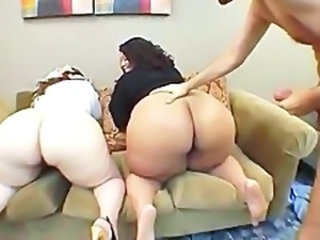 Ass Threesome BBW