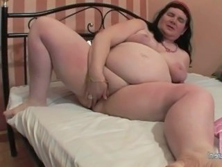 Video from: yobt1 | When granny is alone she loves to play surrounding herself