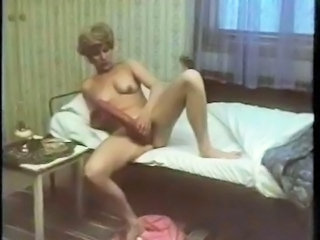 Dildo Masturbating Vintage European Swedish
