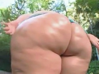 Ass Outdoor SSBBW