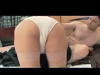 Blonde Granny in Stockings Fucks Sex Tubes