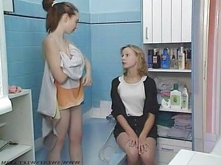 Bathroom Russian Teen Bathroom Bathroom Teen Fisting Lesbian