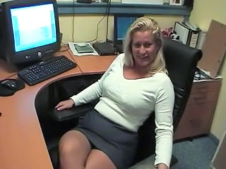 Office Mature Secretary