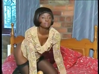 Ebony Vintage MILF Milf Stockings Stockings