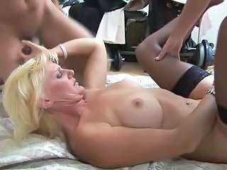 Threesome Mature Hardcore Blonde Mature Hardcore Mature Mature Stockings