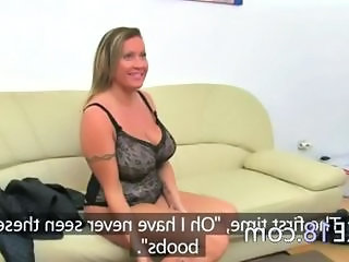 Casting Natural Big Tits