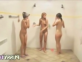 Random group in the public showers