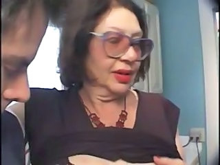 Brunette Glasses Old And Young Ass Big Cock Big Cock Blowjob Blowjob Big Cock