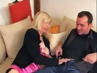 Handjob French European Big Tits Big Tits Blonde Big Tits Handjob