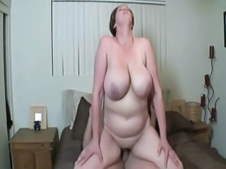 Riding BBW Big Tits