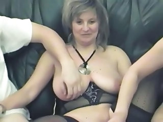 Swingers Threesome Mature European French French Mature