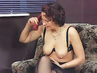 German Saggytits Stockings European German German Mature