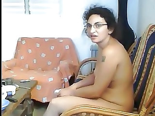 Indian Homemade Glasses Family Glasses Mature Homemade Mature