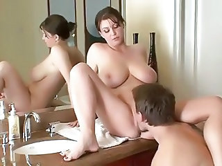 Bathroom Big Tits Chubby Bathroom Bathroom Mom Bathroom Tits