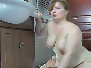 Mature Russian Riding