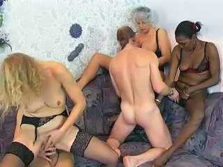 Ebony Groupsex Interracial Stockings