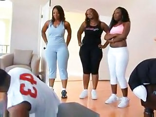 Three Big Ass Black Girl